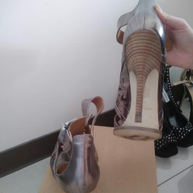 Guess 帥氣跟鞋 24.5可穿