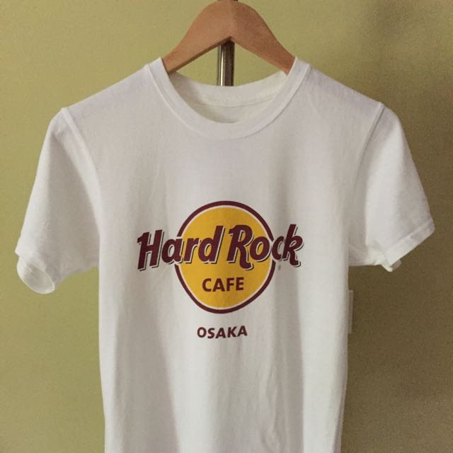 hard rock cafe osaka t shirt men 39 s fashion clothes tops. Black Bedroom Furniture Sets. Home Design Ideas