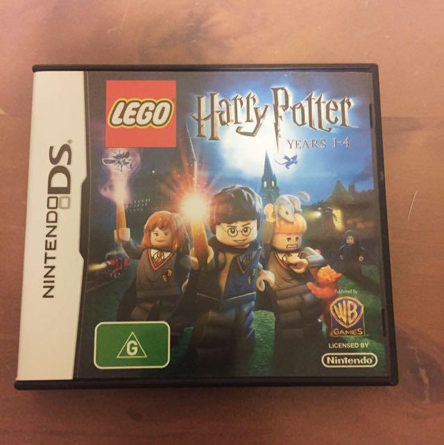 Harry Potter 1-4 Nintendo DS