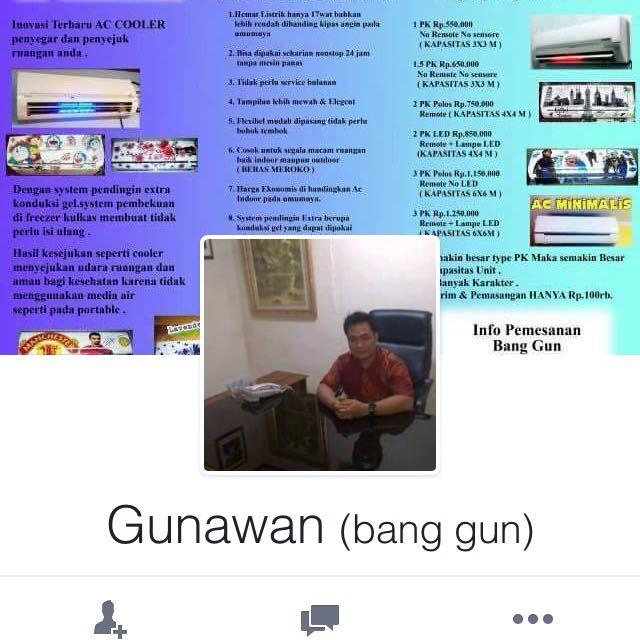 Hati2 yah dia jualan jg di Facebook