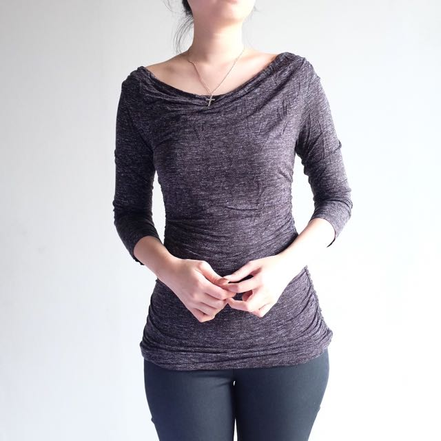 H&M - Gray Top Size XS