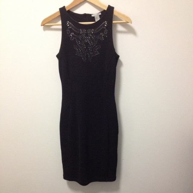 H&M Black Dress Size XS