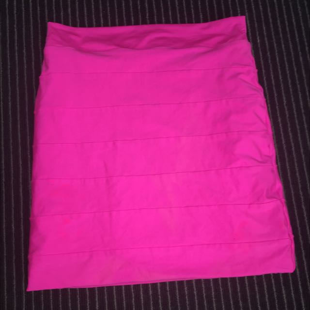 Hot Pink Kookai Skirt