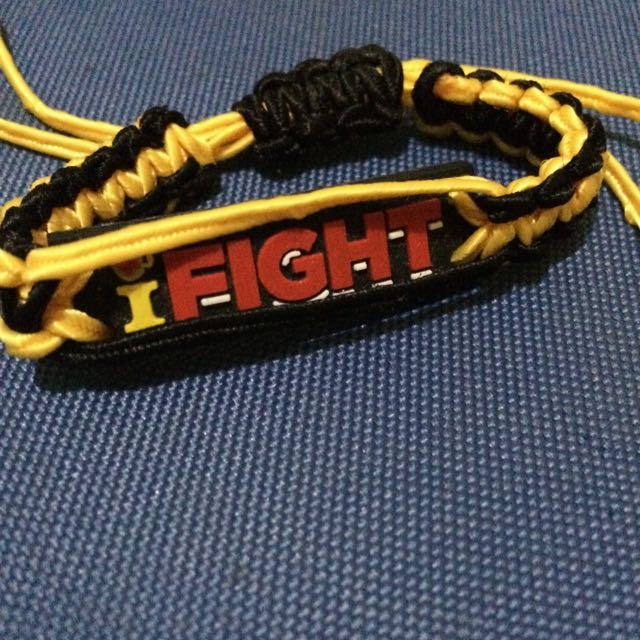 I Fight Bracelet
