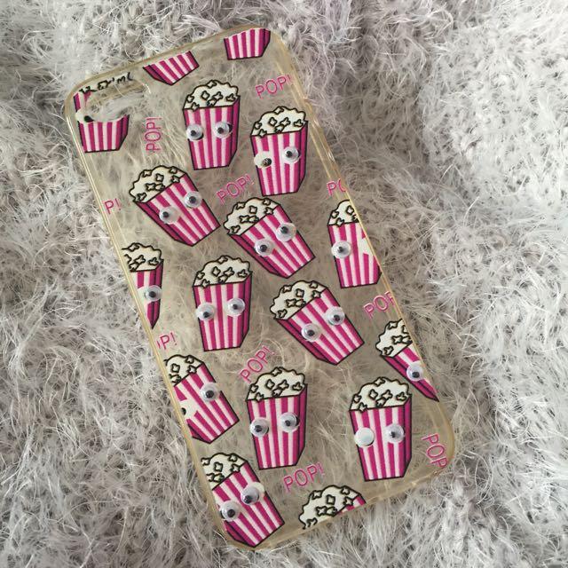 Iphone 5/5s Case Popcorn Eyegazm