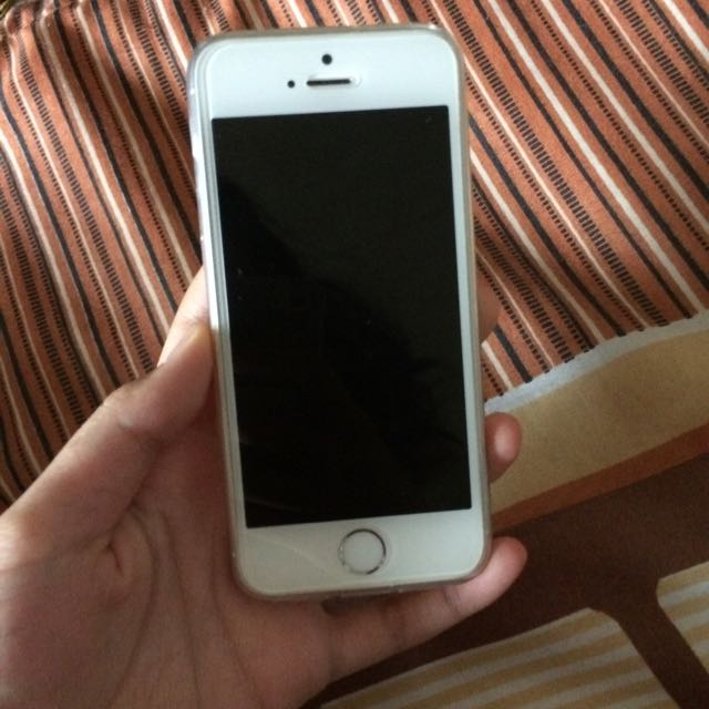 REPRICE iPhone 5s 32gb Silver Ios 10.2 4G