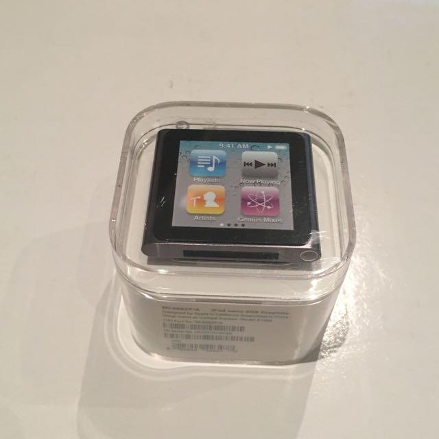 Ipod Nano 8GB Limited Edition - Graphite (Rare!)