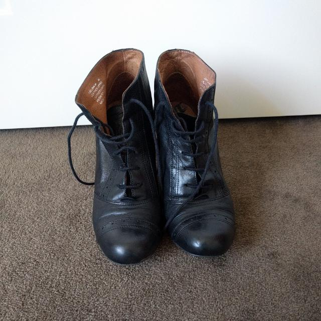 Italian Leather Boots | Size 40 | RRP $280