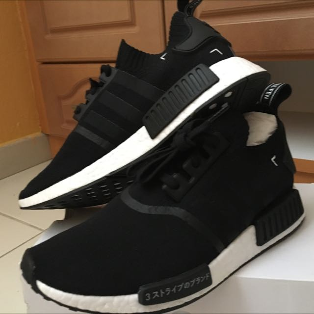 68a8938a5 NEW!! UK 11 - NMD R1 Primknit