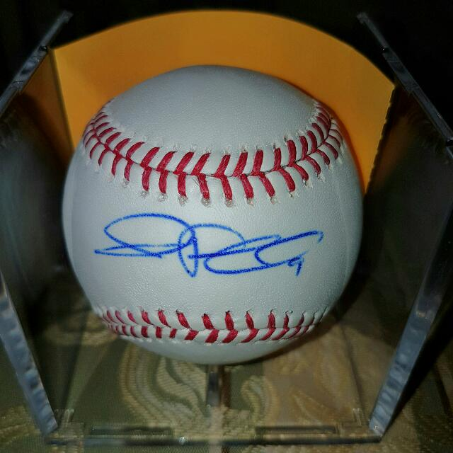 JP Arencibia Signed Official MLB Baseball