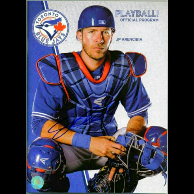 JP Arencibia Toronto Blue Jays Signed Program