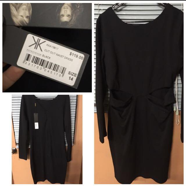KardashianKollection Black Dress