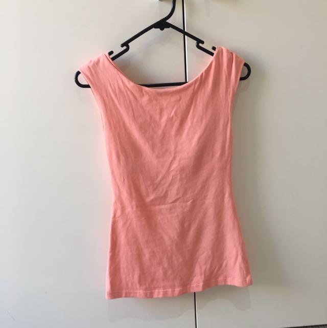 Kookai Peach Shirt