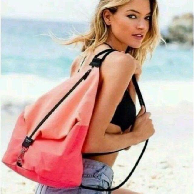 LIMITED EDITION Victoria's Secret Drawstring Bag
