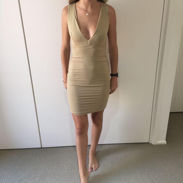 Meshki Khaki Dress