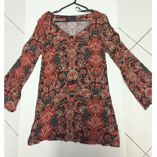 Mink Pink Bohemian/Gypsy Shift Dress