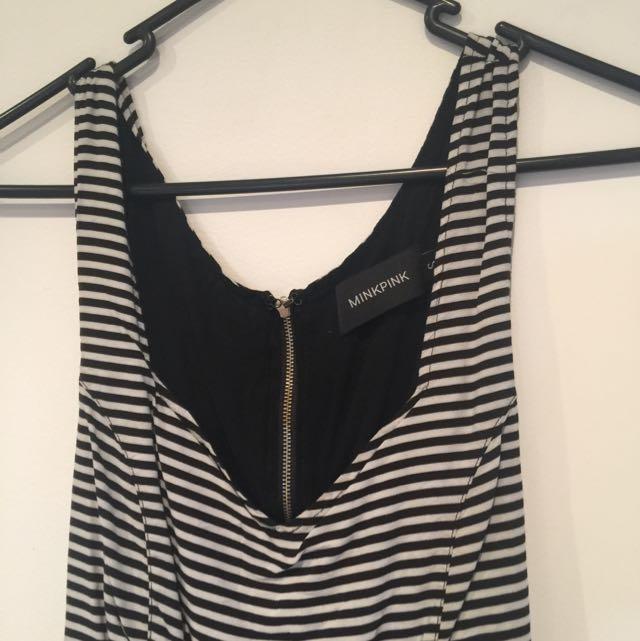 MINKPINK S Striped Dress