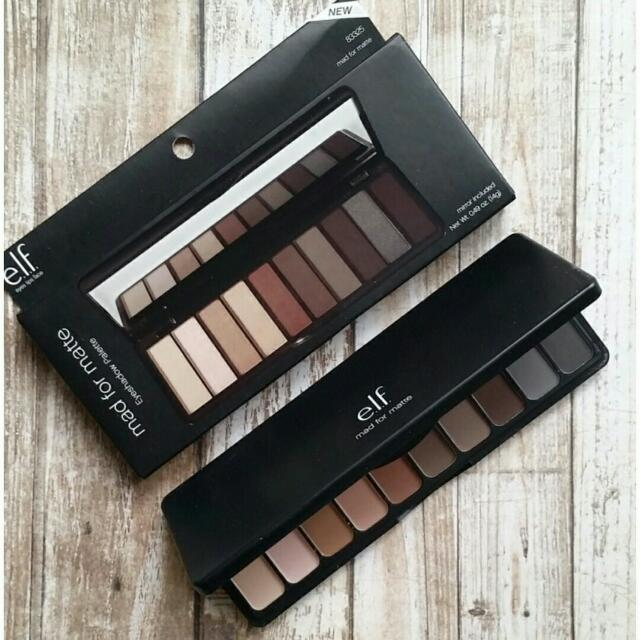 [NEW] Elf: Mad for Matte Eyeshadow Palette