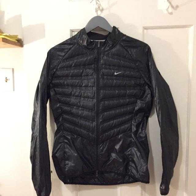 Nike Black Windbreaker