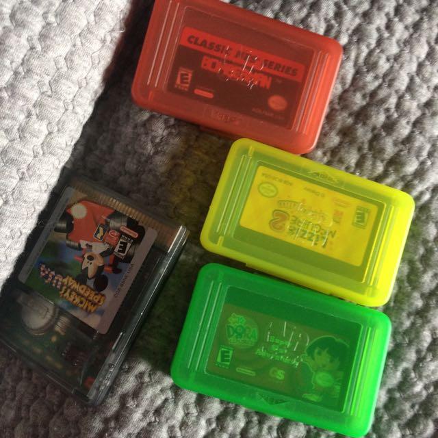Nintendo Gameboy advance SP games