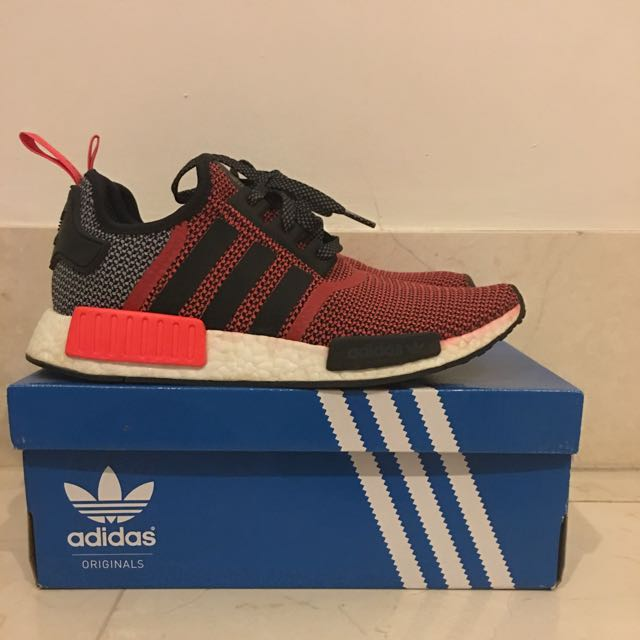 timeless design 21b21 0a51c Nmd Lush Red