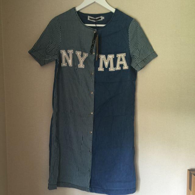 Noisy May Button Up Dress