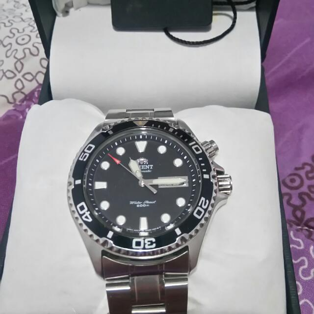 Orient Watch Black Ray