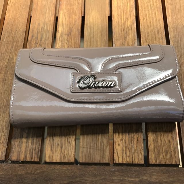 Oroton Patent Leather Wallet