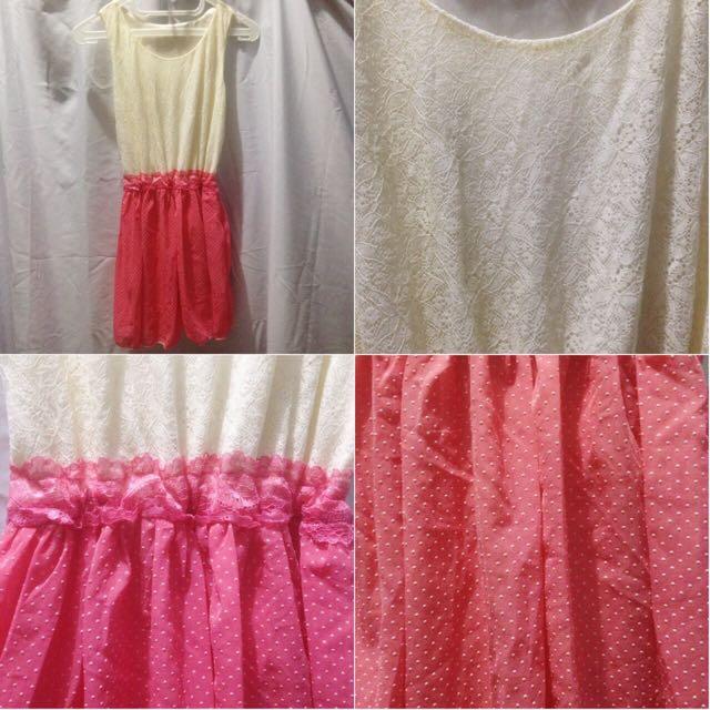 Pastel Polkadot Mini Dress