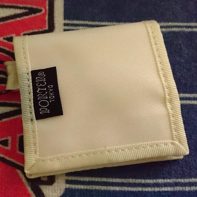 日本Porter小零錢包 (米白色)
