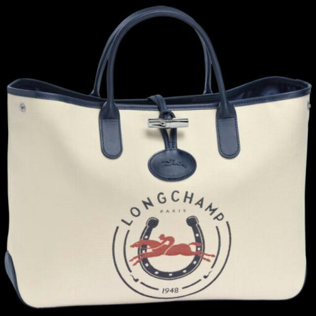 e2deee8e0cb Roseau Longchamp 1948 (Signature Edition) Tote bag, Luxury, Bags & Wallets  on Carousell