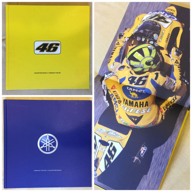 Rossi VR46 原文紀念冊