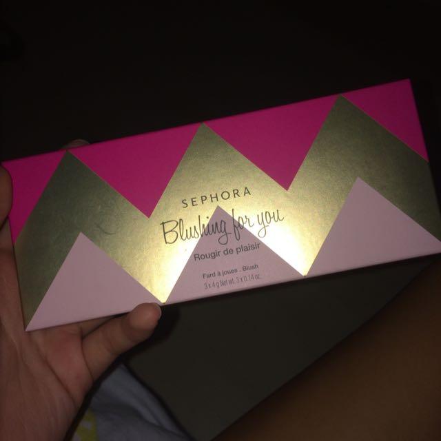 Sephora blush set