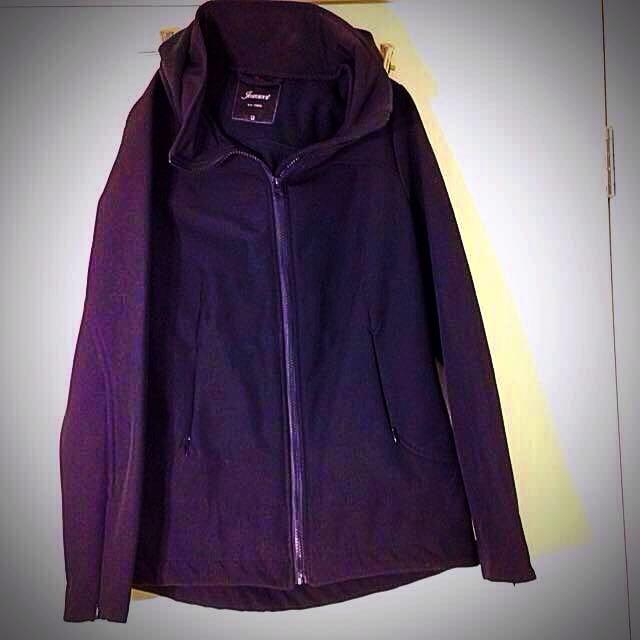 Size 12 Jeanswest Black Hooded Jacket Worn Once