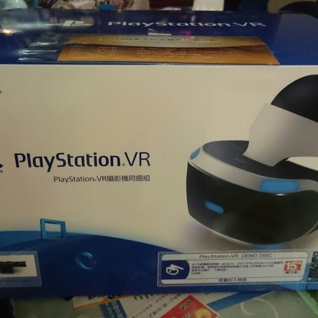 (Sony Ps4 VR Camera攝影機同捆組 )