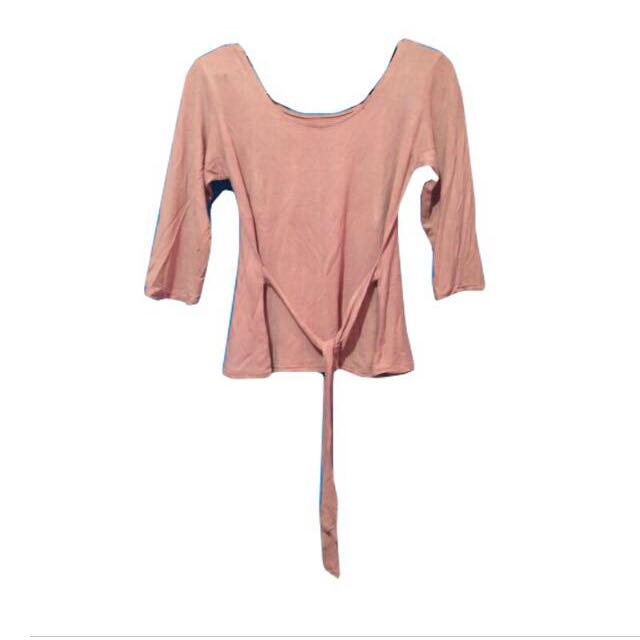 tied top backless