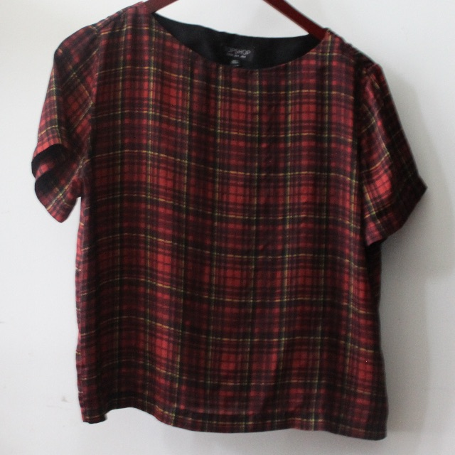 Topshop silky blouse
