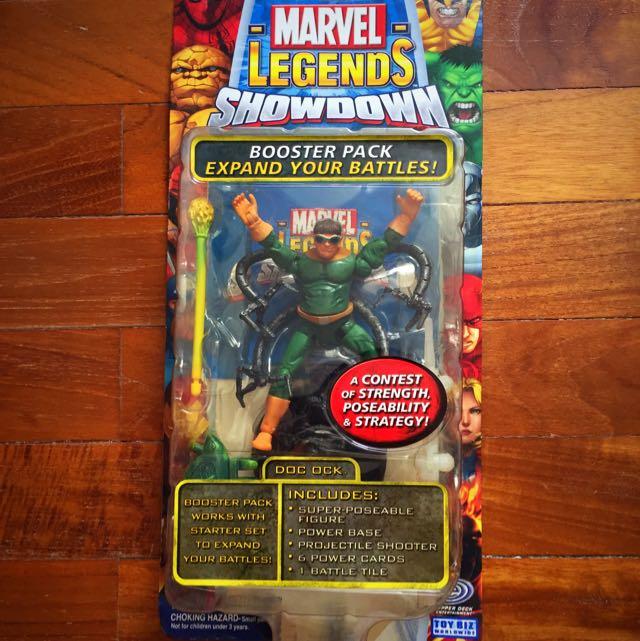 Toy Biz Marvel Legends Doc Ock Figurine In Original Costume Toys