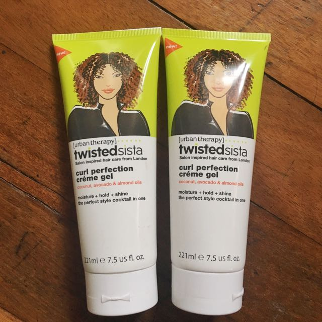 URBAN THERAPY TWISTEDSISTA CURL PERFECTION CRÉME GEL