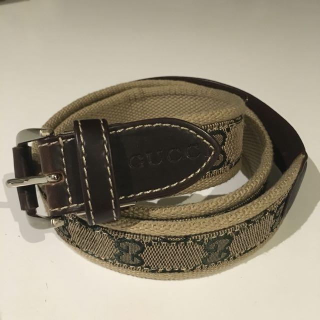 Vintage Gucci Belt
