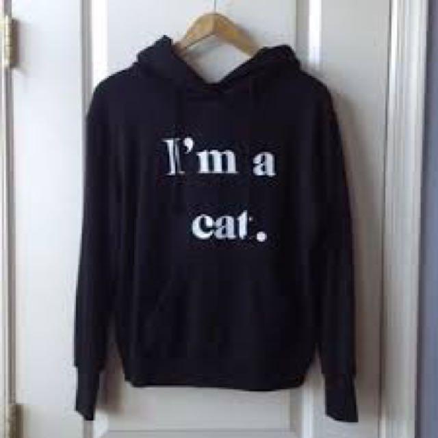 Wildfox Cat Hoodie