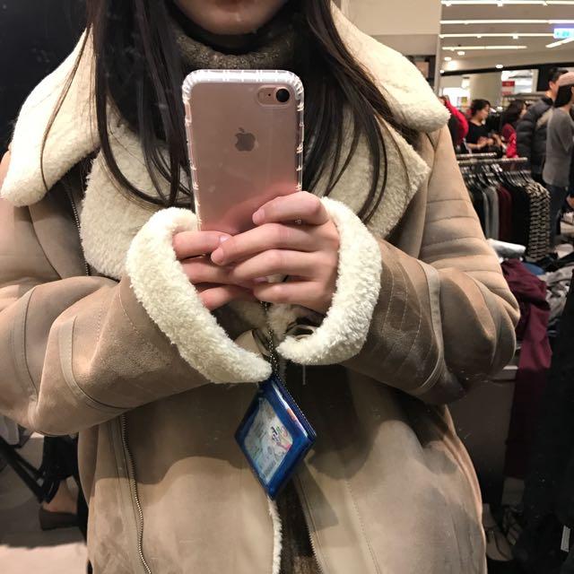 Zara 大外套  幾乎全新