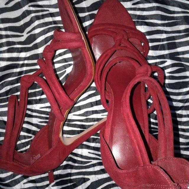 Zara Red 👠👠 Shoes