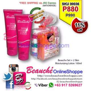 Beauche Set + 2 Skin Moisturizing Lotion 100ml (SKU 00036)