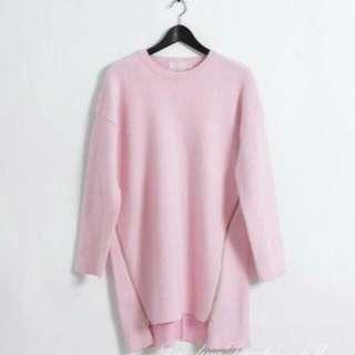 小首爾商行粉紅色連身衣