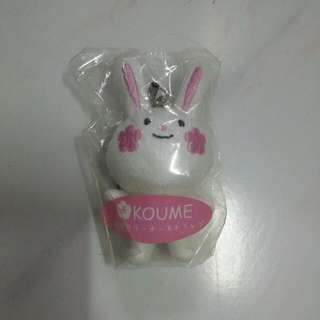 Koume Rabbit Mobile Phone Strap