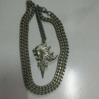 Final Fantasy VIII - Squall's Griever Necklace (Lion Heart)
