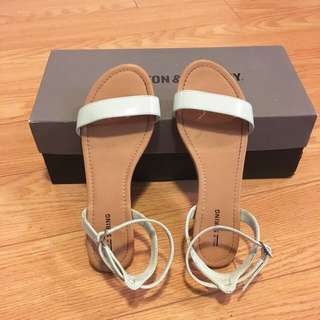 New strappy sandals size7.5