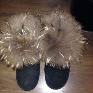 正韓 毛超澎 雪靴