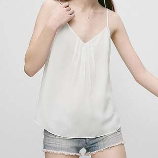 Talula Waverly Blouse White - XS